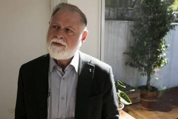 Alberto Manguel en Buenos Aires.