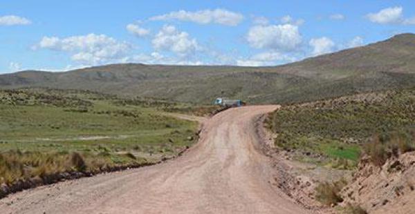 La carretera es una de las prioridades para las comunidades aledañas a la vía