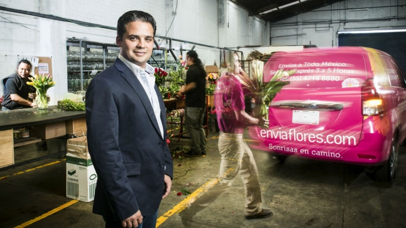 EnviaFlores.com, un negocio que florece en la web