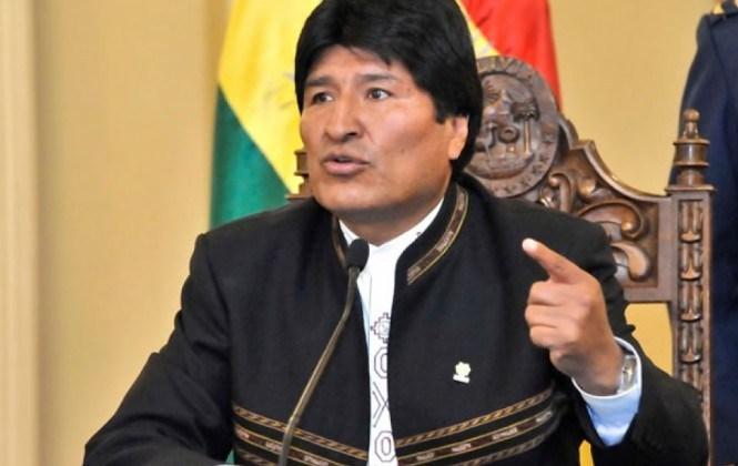 Evo Morales llega al IDIF para someterse a prueba de ADN