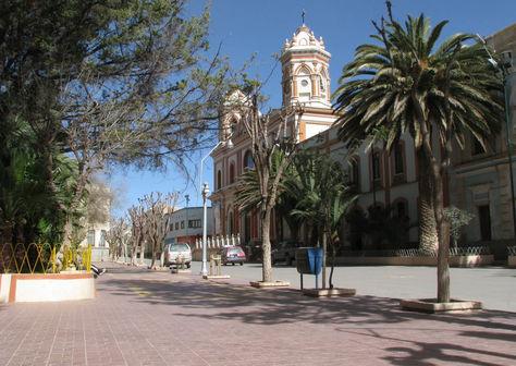 Tupiza esta ubicada en la provincia Sud Chichas del departamento de Potosí