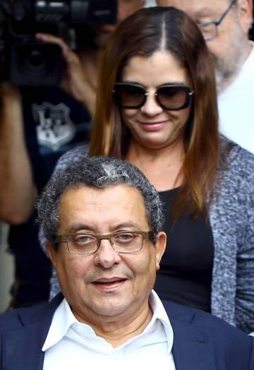 João Santana y su esposa Mónica Moura.