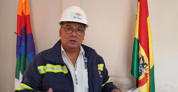 Francisco Rodas, secretario general de YPFB Chaco anunció un ampliado de emergencia para mañana en Santa Cruz