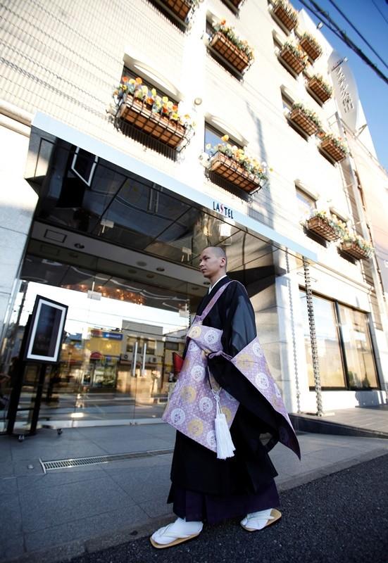 El hotel para cadáveres Lastel, en Yokohama