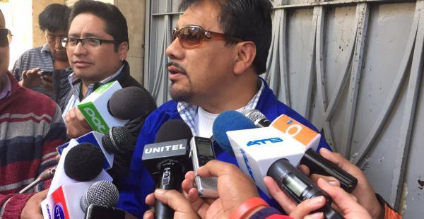 El fiscal Daniel Ayala explicó que el artista declarará esta tarde en La Paz
