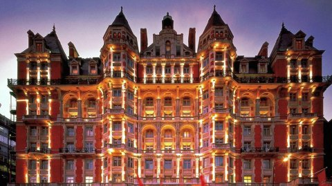 El Mandarin Oriental es el mejor hotel de Londres.