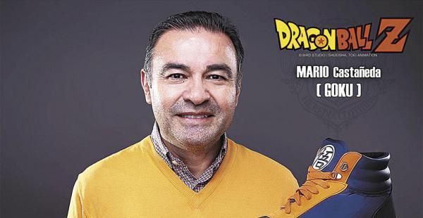 Mario Castañeda. Prestó su voz para Gokú, el protagonista de la serie Dragon Ball