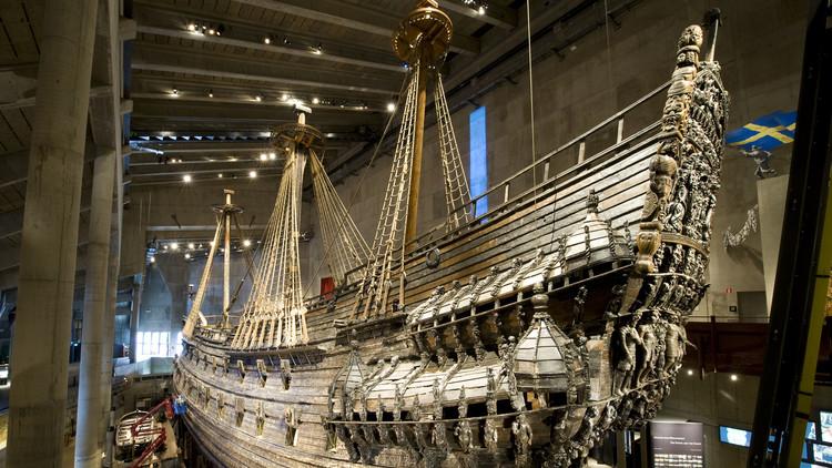 Navío de guerra Vasa, Estocolmo (Suecia)