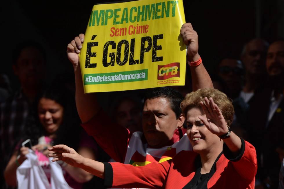 Dilma Rousseff este 1 de mayo.