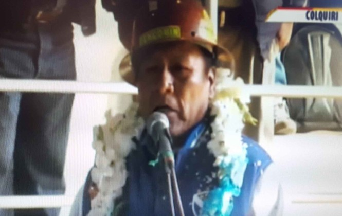 """Mineros de Colquiri denuncian a Morales de un ingenio """"fantasma"""" financiado por la UPRE"""