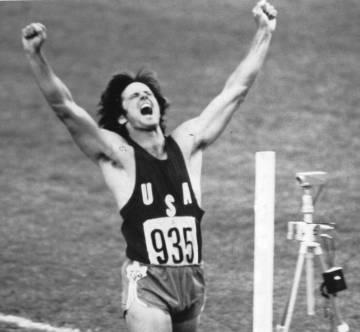 Bruce Jenner en los Juegos de Montreal.