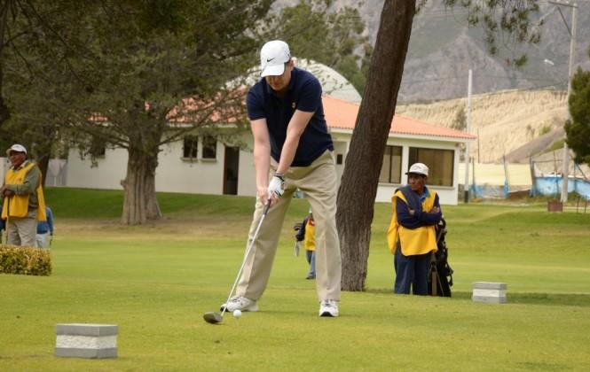 Segunda fase del torneo de golf