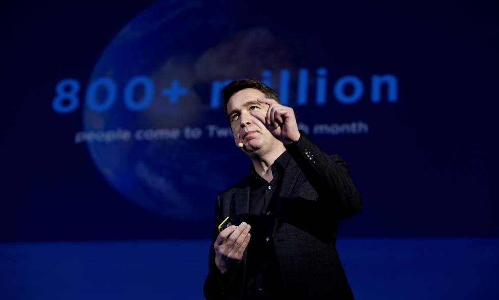 Mark Little, vicepresidente de Twitter, en EL PAÍS RETINA.