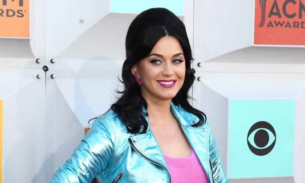 Katy Perry a principios de abril en Las Vegas, Estados Unidos.