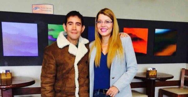 Fernando Kushner y Maricruz Ribera en una de sus reuniones de coordinación