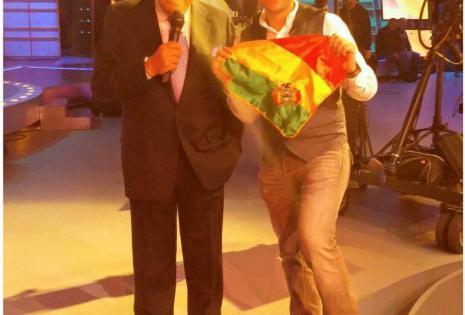 Junto a Don Francisco cuando aún presentaba su show