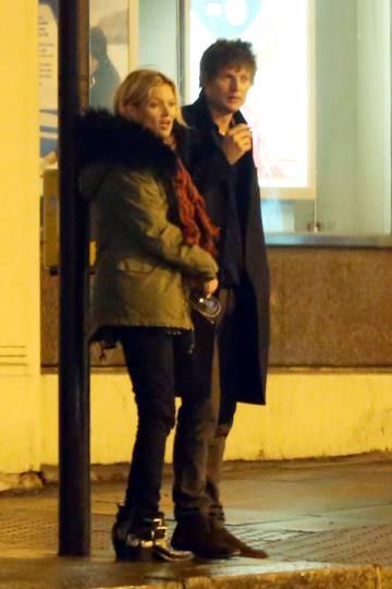 Kate Moss y Nikolai von Bismarck en Londres, el pasado noviembre.