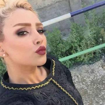 La modelo Elham Arab en una foto de su cuenta de Instagram, que ha sido cancelada.