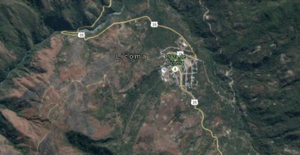 El accidente se produjo cerca de la localidad de Licoma, en el departamento de La Paz