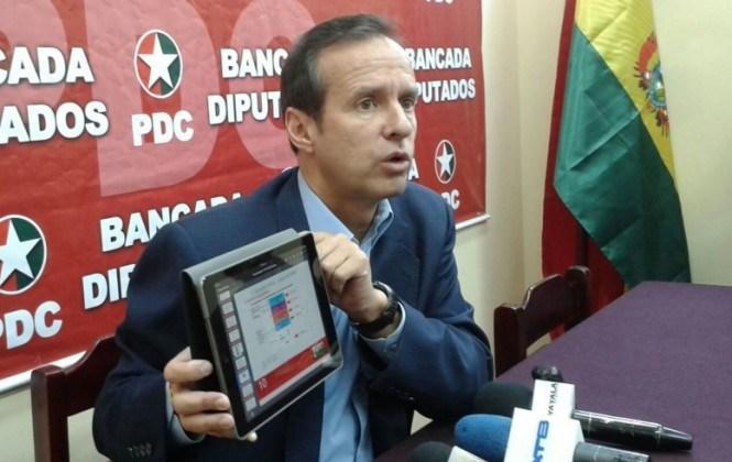 Quiroga asegura que la Constitución no permite otro referéndum sobre la respostulación de Evo