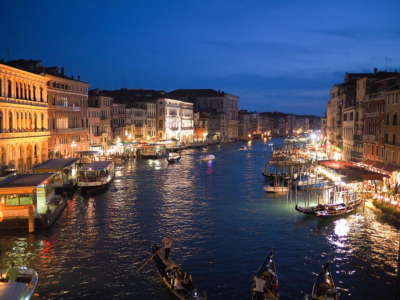 La ciudad italiana de Venecia.