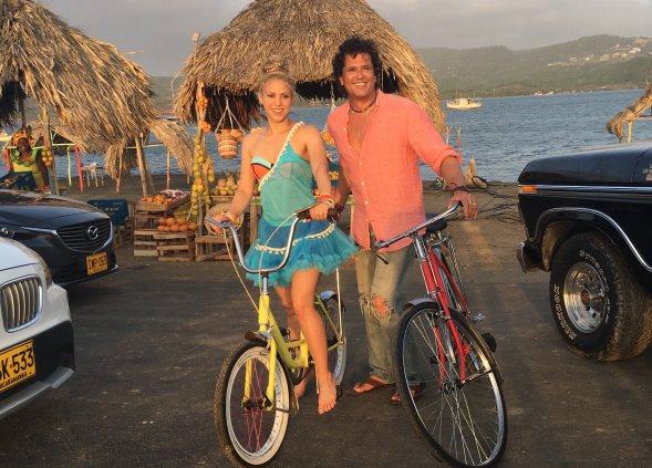 Carlos Vives y Shakira