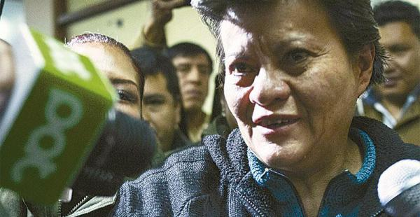 Pilar Guzmán, la tía de cariño de Gabriela Zapata, está detenida desde la semana pasada, acusada de trata de menores