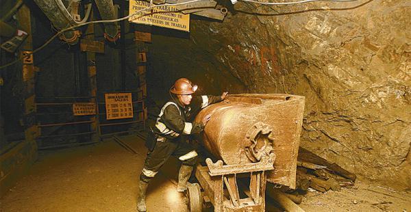La cotización internacional de los minerales afectan al valor de las exportaciones que realiza el país