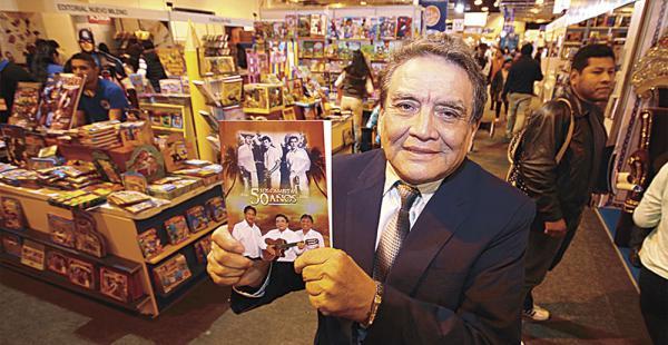 Armando Terceros en la feria