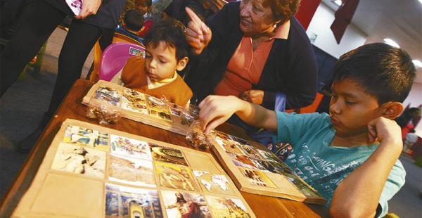 PARA CHICOS. En el pabellón infantil se encuentran las bibliotecas Asurbanipal, Alejandría, Monástica, Escolar y Digital. Además están el Centro Ecopedagógico, el Simón I. Patiño y el Sistema de Bibliotecas