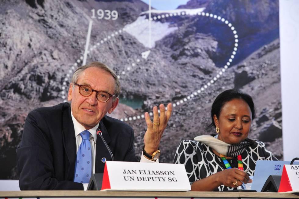 Miembros de la ONU en la conferencia de la asamblea de Medio Ambiente en Nairobi (Kenia).