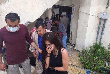 La actriz quedó impactada en sus visitas a las ruinas