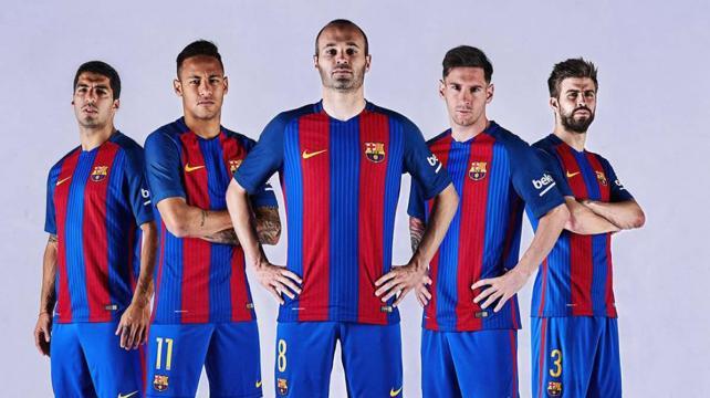 Barza presentó su camiseta para la próxima temporada – eju.tv e008fa478df