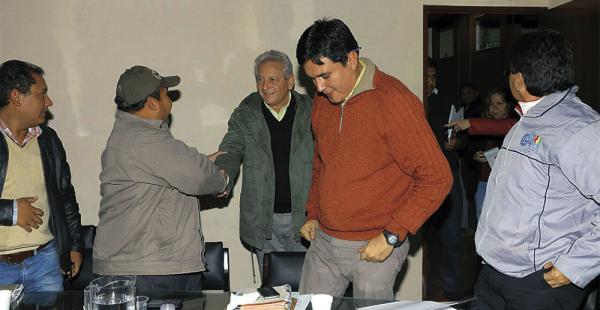 El gobernador inició el diálogo con los alcaldes de 12 municipios