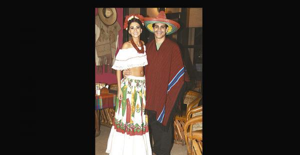 Anabel Angus y Marco Antelo en la previa a su boda en la Riviera Maya, que será en el mes de junio