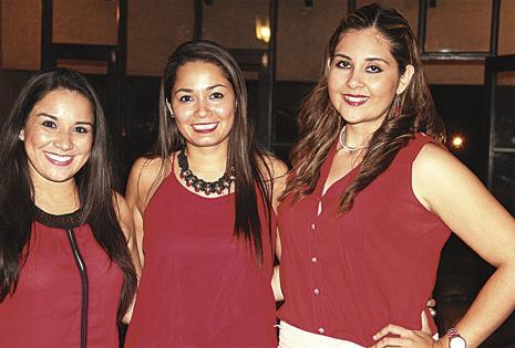 Fabiola Oliva, Carmiña Suárez y Silvana Saavedra dijeron presente