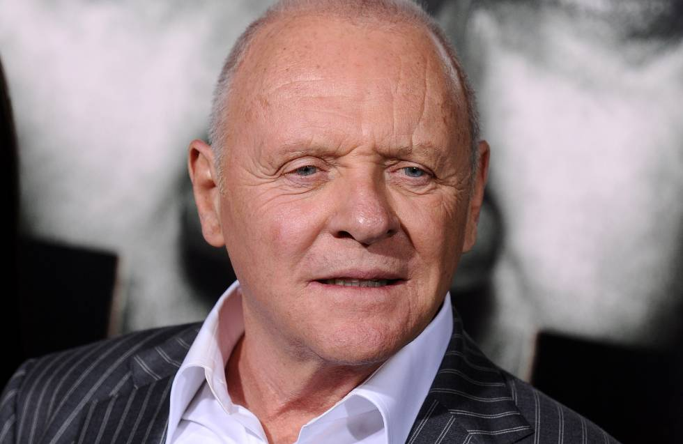 Anthony Hopkins en el estreno de