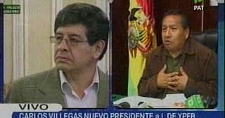 Reporte Tv meridiano Sacan a Santos, ponen a Villegas