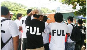 Detienen a dirigente universitario por tomas de instituciones