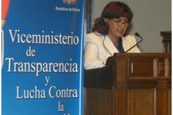 Viceministro presenta denuncia sobre actos irregulares de parlamentario masista