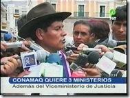 CONAMAQquiere3ministerios