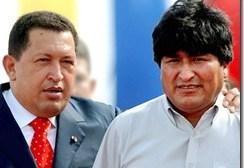 La guerra de Chávez… y Evo