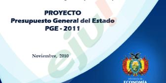 Presentación del Presupuesto General del Estado PGE – 2011