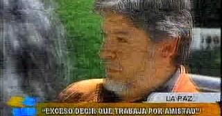 Vicepresidente defiende a Pinto, 'es un exceso decir que trabaja por amistad'