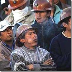 obreros bolivianos