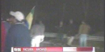 Yacuiba. Campesinos tarijeños bloquean la carretera internacional hacia la Argentina