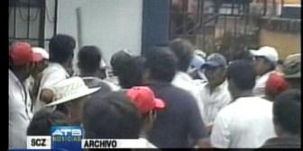 Yapacaní. Disputa por la Alcaldía genera violento enfrentamiento entre civiles