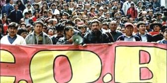 Cumbre sin obreros ni indígenas