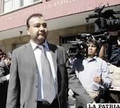 Fiscal Sosa amenaza a gobernador de Santa Cruz con usar la fuerza pública