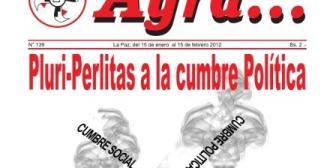 Ayra: de las pluri-perlitas a la Cumbre Política